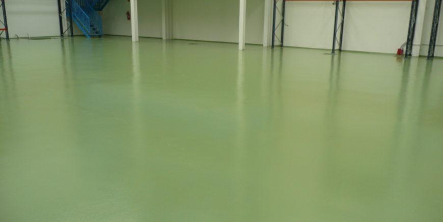 Pavimento de Poliuretano Cemento